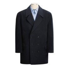 Gloverall English Wool Pea Coat (For Men) in Navy - Closeouts