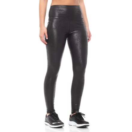 c3bbbdf080798 Glyder High-Waist Core Leggings (For Women) in Black Shine - Closeouts