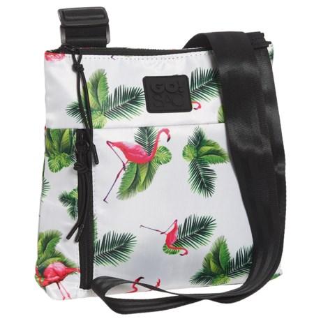 Go! Sac The Crossbody Bag (For Women) in Flamingo
