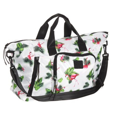 Go! Sac The Large Weekender Bag (For Women) in Flamingo