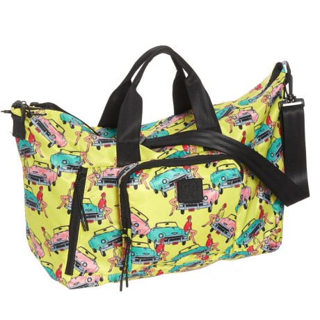 Go! Sac The Large Weekender Bag (For Women) in Vintage Cars