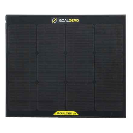 Goal Zero Boulder 30 Solar Panel in See Photo - Closeouts