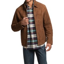 Golden Bear Doyle Weekend Jacket - Goat Suede (For Men) in Brandy - Closeouts