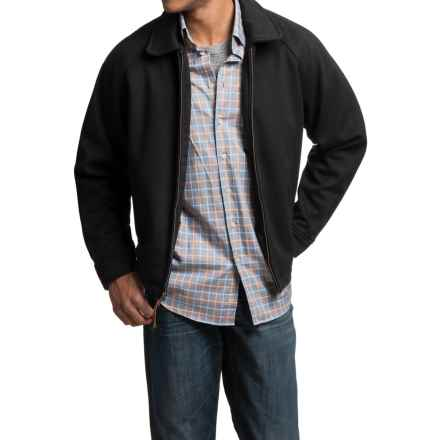 Golden Bear Dunbar Jacket - Italian Wool (For Men) in Black - Closeouts