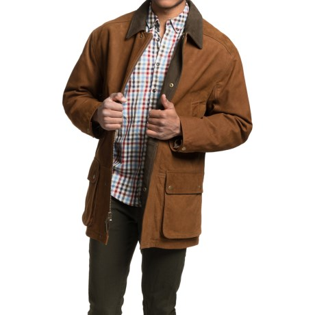 Golden Bear Sierra Cow Nubuck Barn Coat (For Men)