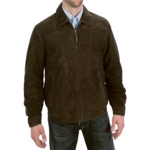 Golden Bear The Bartlett Aviator Jacket - Goatskin Suede (For Men) in Double Dutch - Closeouts