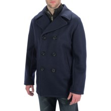 Golden Bear The Bradbury Melton Peacoat - Wool Blend (For Men) in Navy - Closeouts