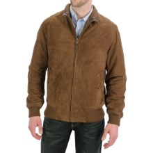 Golden Bear The Fremont Jacket - Goatskin Suede (For Men) in Brandy - Closeouts