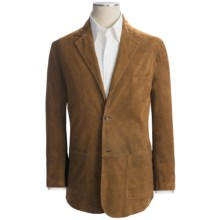 Golden Bear The Henderson Blazer - Goatskin Suede (For Men) in Golden Brown - Closeouts