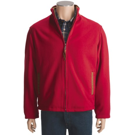 Golden Bear The Inverness Wool Coat - Insulated (For Men) in Red