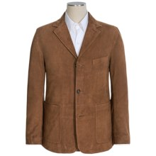 Golden Bear The Jennings Blazer - Goat Suede, Trim Fit (For Men) in Brandy - Closeouts