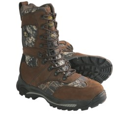 Golden Retriever 4763 Hunting Boots - Waterproof, Insulated (For Men) in Mossy Oak Breakup/Dark Brown