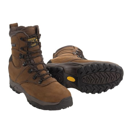 Golden Retriever 4782 Dry Dawgs 600 Gram Hunting Boots - Waterproof Nubuck Insulated (For Men) in Brown Nubuck