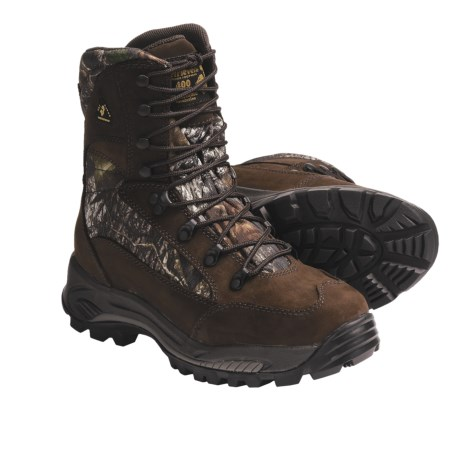 Golden Retriever Dry Dawgs 400 Gram Hunting Boots - Waterproof, Insulated (For Men) in Brown/Mossy Oak Break Up
