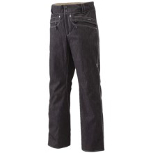 Goldwin 2-Way Stretch Ski Pants - Waterproof, Insulated (For Men) in Black - Closeouts
