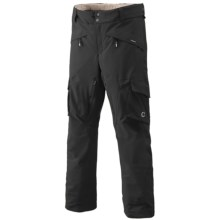 Goldwin G-Tec 4-Way Stretch Ski Pants - Waterproof, Insulated (For Men) in Black - Closeouts