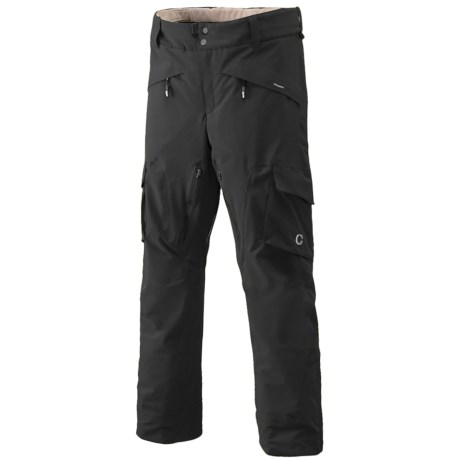Goldwin G-Tec 4-Way Stretch Ski Pants - Waterproof, Insulated (For Men) in Black