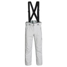 Goldwin Gore-Tex® Side Zip Ski Pants - Waterproof (For Men) in Snow White - Closeouts