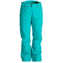 Goldwin Hybrid Warm Stretch Ski Pants - Insulated (For Women) in Turquoise Green - Closeouts