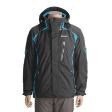 Goldwin Speed Jacket - Insulated (For Men) in Black/Turquoise - Closeouts
