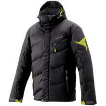 Goldwin Stealth Adflex Down Ski Jacket - H.O.O.D. System (For Men) in Black - Closeouts