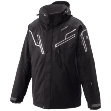 Goldwin Stealth Ski Jacket - Insulated (For Men) in Black - Closeouts