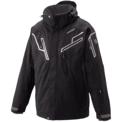 Goldwin Stealth Ski Jacket - Insulated (For Men) in Black