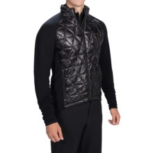 Goldwin Thermocluster Jacket - Polartec® Power Stretch®, Insulated (For Men) in Black - Closeouts