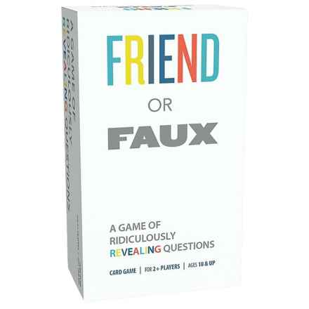 Goliath Friend or Faux Card Game in See Photo - Closeouts