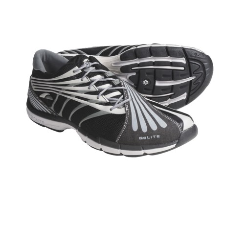 GoLite Flash Lite Trail Running Shoes (For Men) in Black/Windchime
