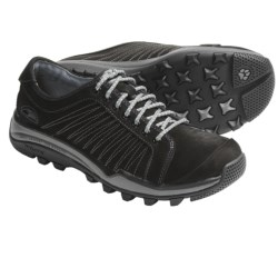 GoLite Journey Lite Shoes - Leather (For Women) in Black Nubuck