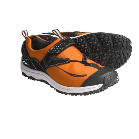 GoLite Tara Lite Trail Running Shoes (For Men) in Burnt Orange