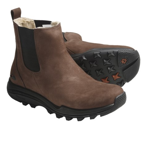 GoLite Winter Lite Boots - Waterproof, Leather (For Women) in Brown Nubuck