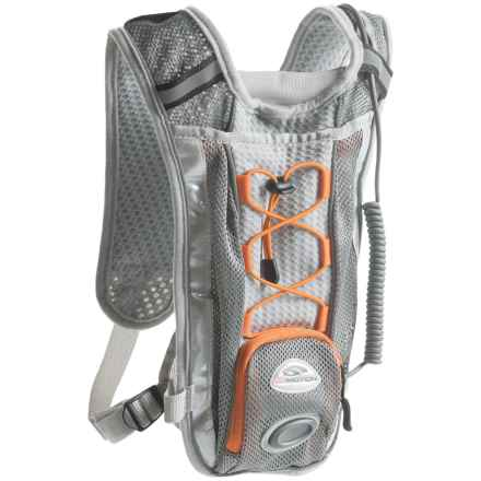 Gomotion Synergy Running Vest with Light - 100 Lumens in Grey - Closeouts