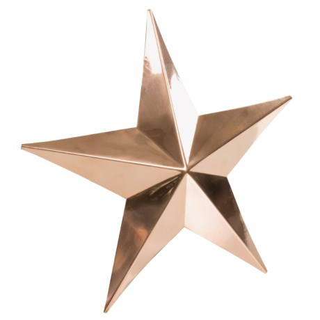 Good Directions Copper Barn Star Small