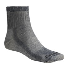 Goodhew 1/4 Crew Hiking Socks - Merino Wool, Midweight, Medium Cushion (For Men and Women) in Navy - 2nds