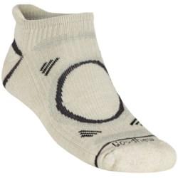 Goodhew Adventurer Micro Socks - Merino Wool (For Men) in Oyster/Black/Iron