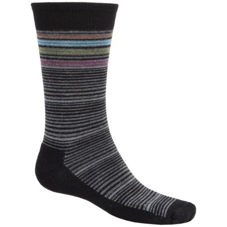 Goodhew Bandwidth Socks - Merino Wool, Crew (For Men)