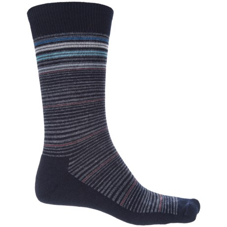 Goodhew Bandwidth Socks - Merino Wool, Crew (For Men)