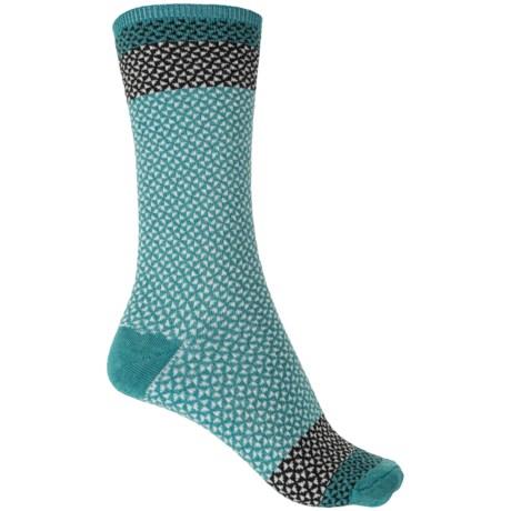 Goodhew Bow Tie Socks - Merino Wool, Crew (For Women)