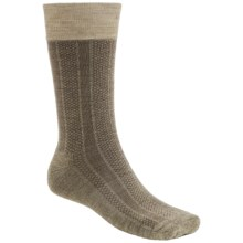 Goodhew Cambridge Dress Socks - Merino Wool (For Men) in Khaki - Closeouts