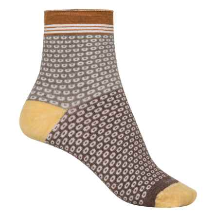 Goodhew Cheery O Socks - Ankle (For Women) in Bark - Closeouts
