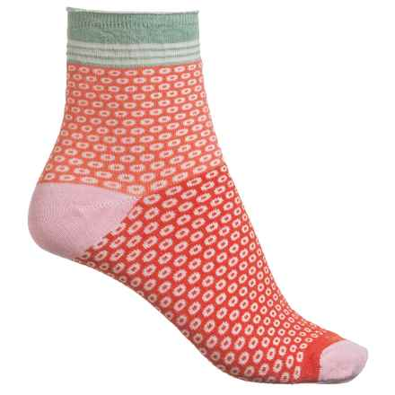 Goodhew Cheery O Socks - Ankle (For Women) in Poppy - Closeouts