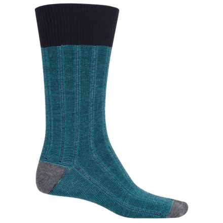 Goodhew Countryman Socks - Crew (For Men) in Navy - Closeouts