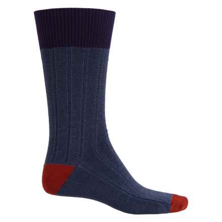Goodhew Countryman Socks - Merino Wool Blend, Crew (For Men) in Concorde - Closeouts
