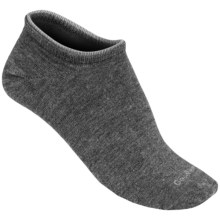 Goodhew Diamond in the Rough Ankle Socks - Cashmerino Rayon (For Women) in Charcoal - Closeouts