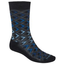 Goodhew Diamondback Socks - Crew (For Men) in Black - Closeouts