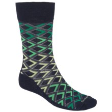 Goodhew Diamondback Socks - Crew (For Men) in Navy - Closeouts
