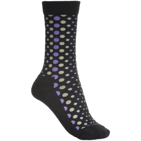 Goodhew Dot Dot Dot Socks - Lightweight (For Women) in Black
