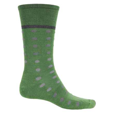 Goodhew Dotster Socks - Merino Wool, Crew (For Men) in Meadow - Closeouts